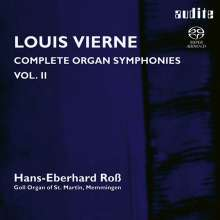 Louis Vierne (1870-1937): Sämtliche Orgelsymphonien Vol.2, Super Audio CD
