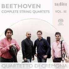 Ludwig van Beethoven (1770-1827): Sämtliche Streichquartette Vol.3, SACD