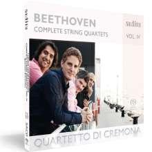Ludwig van Beethoven (1770-1827): Sämtliche Streichquartette Vol.4, Super Audio CD