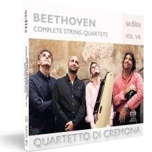 Ludwig van Beethoven (1770-1827): Sämtliche Streichquartette Vol.8, CD