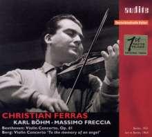 Christian Ferras - Violinkonzerte, CD