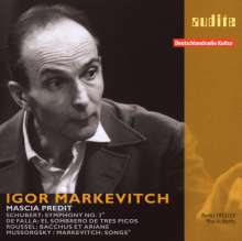 Igor Markevitch Vol.1, CD