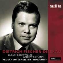 Dietrich Fischer-Dieskau - Reger/Sutermeister/Hindemith, CD