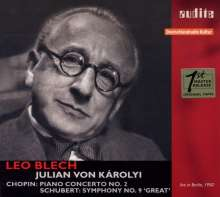 Leo Blech - Live in Berlin 1950, CD