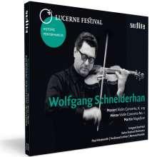 Wolfgang Schneiderhan - Lucerne Festival, CD