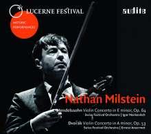 Nathan Milstein - Lucerne Festival 1953 & 1955, CD