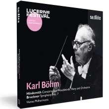 Paul Hindemith (1895-1963): Konzert für Bläser, Harfe & Orchester, CD