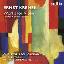 Ernst Krenek (1900-1991): Sonaten für Violine & Klavier Nr.1 & 2, CD