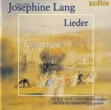 """Josephine Lang (1815-1880): Lieder """"Feenreigen"""", CD"""