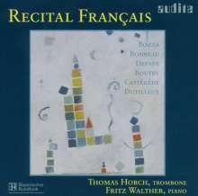 Thomas Horch - Recital Francaix, CD