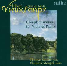 Henri Vieuxtemps (1820-1881): Werke für Viola & Klavier, CD