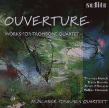Münchner Posaunen Quartett - Ouverture, CD