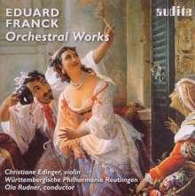 Eduard Franck (1817-1893): Orchesterwerke, CD