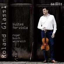 Roland Glassl - Suites for Viola, CD