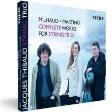 Jacques Thibaud String Trio, CD