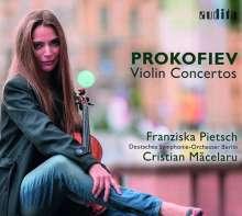 Serge Prokofieff (1891-1953): Violinkonzerte Nr.1 & 2, CD