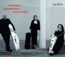 Trio Lirico - Weinberg / Penderecki / Schnittke, CD