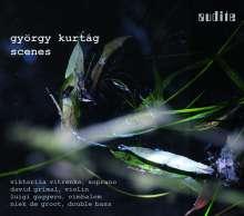 György Kurtag (geb. 1926): Scenes from a Novel op.19, CD