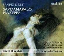 Franz Liszt (1811-1886): Sardanapalo (Szenen 1-4 einer unvollendeten Oper), CD