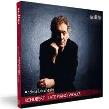 Franz Schubert (1797-1828): Späte Klavierwerke Vol.1, CD