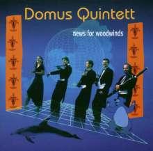 Domus Quintett - News for Woodwinds, CD