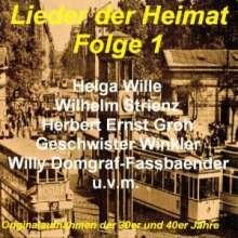 Lieder der Heimat Folge 1, 2 CDs