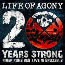 Life Of Agony: 20 Years Strong - River Runs Red (Live In Brussels), 2 LPs