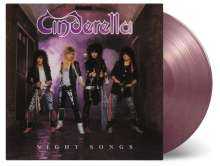 Cinderella: Night Songs (180g) (Limited Numbered Edition) (Purple & Gold Mixed Vinyl), LP