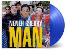 Neneh Cherry (geb. 1964): Man (180g) (Limited Numbered Edition) (Clear Blue Vinyl), LP