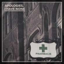 Apologies I Have None: Pharmacie, CD