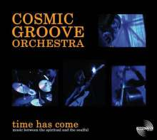 Cosmic Groove Orchestra: Time Has Come, CD
