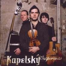 Kapelsky: Ostperanto, CD