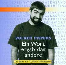 Volker Pispers: Ein Wort ergab das andere, CD