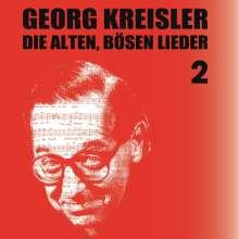 Georg Kreisler (1922-2011): Die alten, bösen Lieder Vol. 2, CD