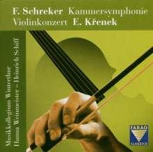 Ernst Krenek (1900-1991): Violinkonzert Nr.1 op.29, CD
