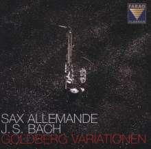 Johann Sebastian Bach (1685-1750): Goldberg-Variationen BWV 988 für Saxophonquartett, CD