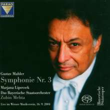 Gustav Mahler (1860-1911): Symphonie Nr.3, 2 Super Audio CDs