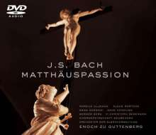 Johann Sebastian Bach (1685-1750): Matthäus-Passion BWV 244, 2 DVD-Audios