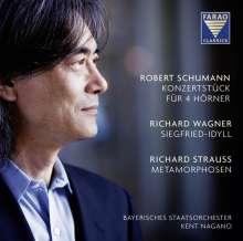 Robert Schumann (1810-1856): Konzertstück F-Dur op.86 für 4 Hörner & großes Orchester, Super Audio CD