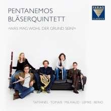 """Pentanemos Bläserquintett - """"Was Mag Wohl Der Grund Sein?"""", CD"""