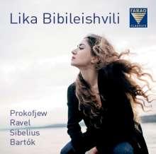 Lika Bibileishvili - Prokofieff, Ravel, Sibelius, Bartok, CD