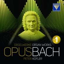 "Johann Sebastian Bach (1685-1750): Orgelwerke ""OpusBach"" Box 1, 5 CDs"