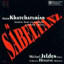 Aram Khachaturian (1903-1978): Sämtliche Werke für Violine & Klavier, CD