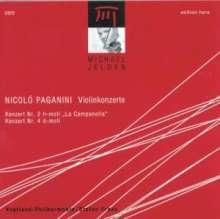 Niccolo Paganini (1782-1840): Violinkonzerte Nr.2 & 4, CD
