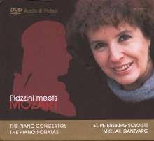 Wolfgang Amadeus Mozart (1756-1791): Sämtliche Klavierkonzerte, 2 DVDs