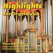 Hans-Dieter Karras - Highlights der Orgelmusik, CD