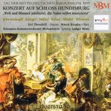 Konzert auf Schloss Hundisburg - Mitteldeutsche Barockmusik, CD