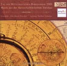 Tag der Mitteldeutschen Barockmusik 2001, CD