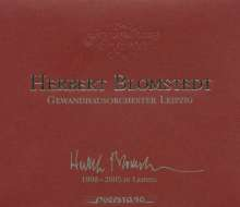 Herbert Blomstedt - 1998-2005 in Leipzig, 5 CDs
