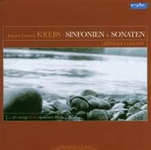 Johann Ludwig Krebs (1713-1780): Sinfonias & Sonaten, CD